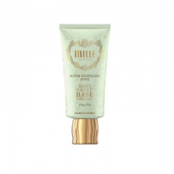 Mille Super whitening rose baby green base SPF30 PA++ Face fix 30g