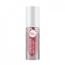 Karmart Lip & Cheek Matte Tint Baby Bright 03 Deep Sea Coral 4g