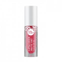 Karmart Lip & Cheek Matte Tint Baby Bright 08 Calypso Coral 4g