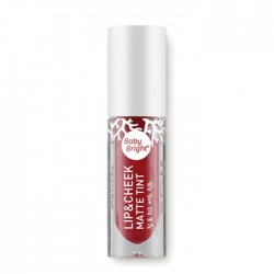 Karmart Lip & Cheek Matte Tint Baby Bright 10 Jam Red 4g