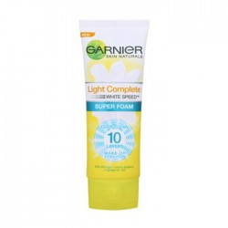 GARNIER  LIGHT COMPLETE WHITE SPEED SUPER FOAM 100 ml