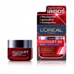 LOREAL Paris Revitalift Laser X3 Night Cream-Mask 50ml