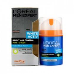 LOREAL Men Expect White Oil Control Gel Cream 50ml