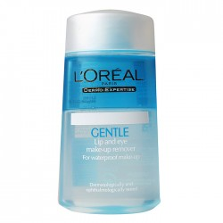 LOREAL GENTLE lip&eye make up remover 125ml