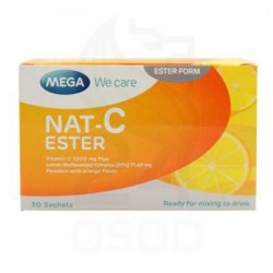 MEGA NAT C ESTER 1000MG 30SAC