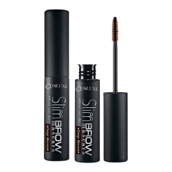 Cosluxe slimbrow mascara-deep brown 2g