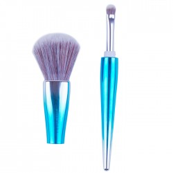 NEE CARA 2-TONE BLUSH & EYESHADOW BRUSH N753