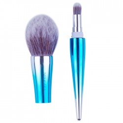 NEE CARA 2-TONE POWDER & BLENDING BRUSH N752
