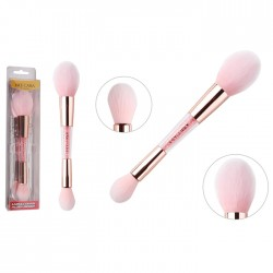 NEE CARA LIPSTICK & SMALL BLUSH BRUSH N641