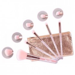 NEE CARA CRYSTAL 5 PIECE BRUSH SET N117