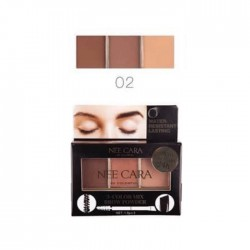 NEE CARA 3 COLOR MIX BROW POWDER 02 1.5g