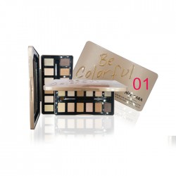 NEE CARA NUDE 12 COLOR EYE SHADOW PALETTE no.01 17.7g