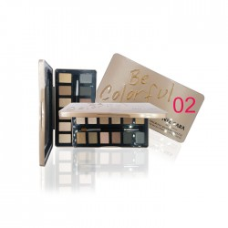 NEE CARA NUDE 12 COLOR EYE SHADOW PALETTE no.02 17.7g