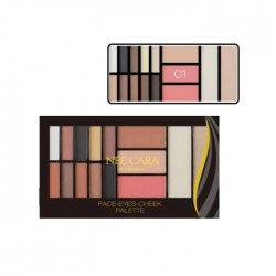 NEE CARA FACE-EYES-CHEEK PALETTE no.01 20g