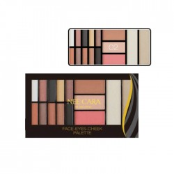 NEE CARA FACE-EYES-CHEEK PALETTE no.02 20g