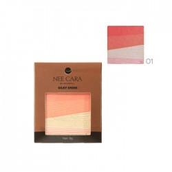 NEE CARA Silky Shine 4 Color Blush Palette no.01 8g