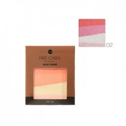 NEE CARA Silky Shine 4 Color Blush Palette no.02 8g