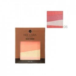 NEE CARA Silky Shine 4 Color Blush Palette no.05 8g