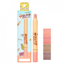 Meilinda Soda Pop Shimmer Stick No.02 - Peachy Pop 1.5g