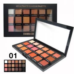 Sivanna hd ultimate shadow palette HF375 no.01 18g