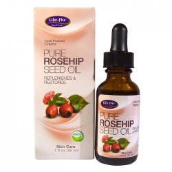 Life Flo Pure Rosehip Seed Oil Replenishes & Restores 30ml