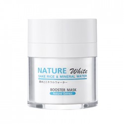 MANA Nature White Sake Rice Mineral Water Booster Mask 10ml