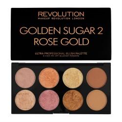 Revolution Ultra Blush Palette Golden Sugar2 14g