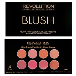 Revolution Ultra Blush Palette All About Cream 13g