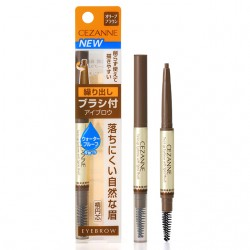 Cezanne Twist-up Eyebrow with Spiral Brush 1g