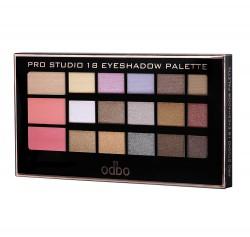 odbo Pro Studio 18 Eyeshadow Palette 15g