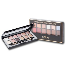 odbo 12 color eyeshadow palette 14g