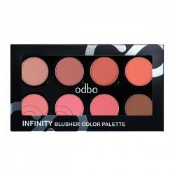 odbo Infinity Blusher Color Palette 36g