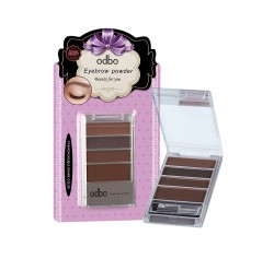 odbo Eyebrown Powder Beauty For You 8g