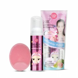 Karmart Bubble mousse cleanser Face Wash Cleansing Pad Set Cathy Doll Seven 70ml