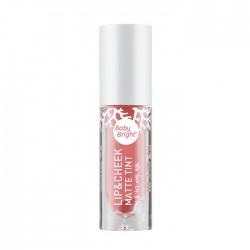 Karmart Lip & Cheek Matte Tint Baby Bright 01 Peach Me 4g
