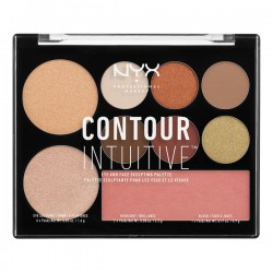 NYX CONTOUR INTUITIVE PALETTE SHADE 9g