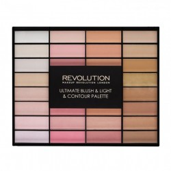 Revolution ULTIMATE BLUSH & LIGHT & CONTOUR PALETTE 85g