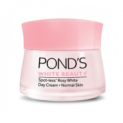 PONDS FACIAL WHITE BEAUTY SPOT LESS ROSY WHITE DAY CREAM 50G.