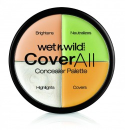 WET N WILD COVER ALL CONCEALER PALETTE 6g
