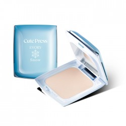 Cute Press Evory Snow Whitening & Oil Control Foundation Powder SPF 30 PA ++ 12g