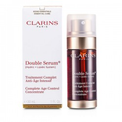 CLARINS Double serum complete age control concentrate  30ml.