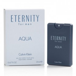 Calvin Klein Eternity for men Aqua Eau de Toillete Travel Spray 20ml