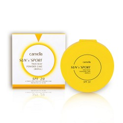 CAMELLA SUN AND SPORT TWO-WAY POWDER CAKE (Refill) SPF 20 12g