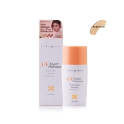 Cute Press UV Expert protection White & Matte Sunscreen SPF 50+ PA++++ 30g