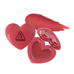 3CE Heart Pot Lip Woody Rose 5g