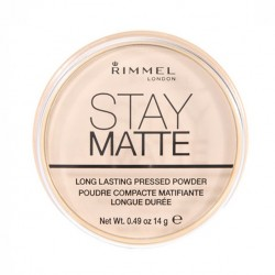 Rimmel London Stay Matte Long Lasting Pressed Powder #001 14g