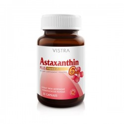 Vistra Astraxanthin 6MG plus 30's/ขวด