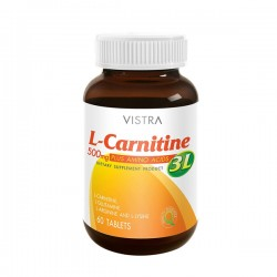 Vistra L-CARNITINE PLUS 3L 30'S/ขวด
