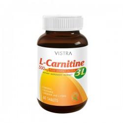 Vistra L-CARNITINE PLUS 3L 30'S/ขวด